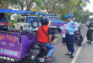 Razia Tertib Pajak di Kota Sabang