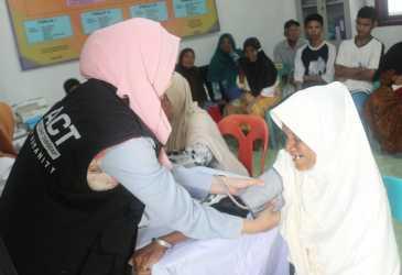 ACT Layani 428 Pasien Berobat Gratis di Aceh