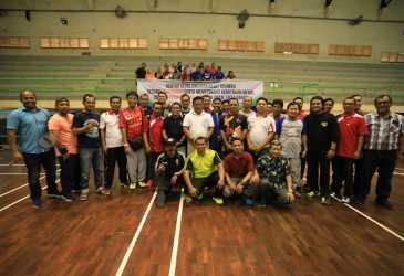 Wali Kota Buka Turnamen Badminton Antar Wartawan