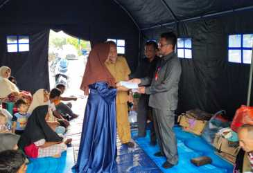 BMA Bantu Korban Kebakaran Gampong Keuramat
