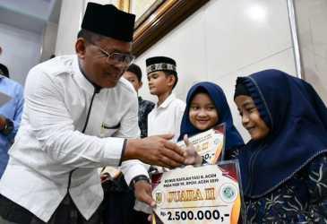 Wali Kota Apresiasi Jemaah Masjid Babul Jannah