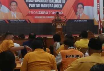 Ibnu Rusdi Kembali Pimpin Hanura Aceh