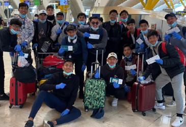 28 Pemain Vamos Indonesia Dipulangkan dari Spanyol