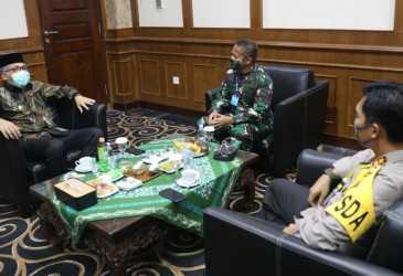 Plt Gubernur Aceh Sambut Pangdam IM Baru