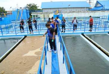 Wali Kota Tinjau Pengolahan Air PDAM di Lambaro