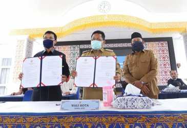 Pemko Banda Aceh Adakan Musrenbang Via Video Conference