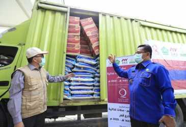 Wali Kota Salurkan Bantuan Qatar Charity