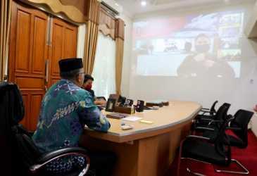 Plt Gubernur Aceh Bahas Strategi Pengendalian Inflasi dan Krisis Pangan