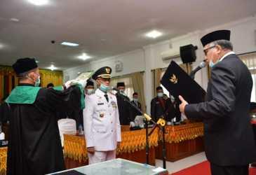 Plt Gubernur Aceh Lantik Muzakkar A Gani sebagai Bupati Bireuen