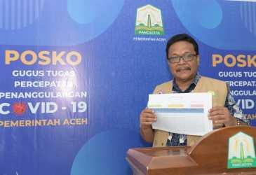 Kasus Konfirmasi Positif Covid-19 Aceh Menjadi 50 Orang