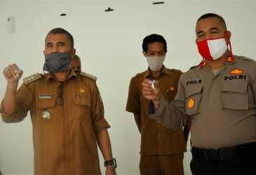 Camat Syiah Kuala Imbau Masyarakat Jangan Takut Tes Swab