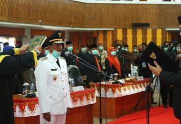 Plt Gubernur Aceh Lantik Bupati Aceh Selatan