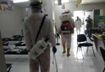 Wali Kota Perintahkan Penyemprotan Disinfektan di Titik Rawan Covid-19