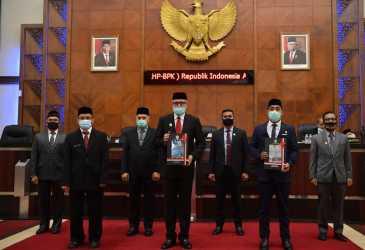 Pemerintah Aceh Terima WTP 2019