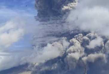 Letusan Gunung Sinabung Belum Berdampak Penerbangan ke Aceh