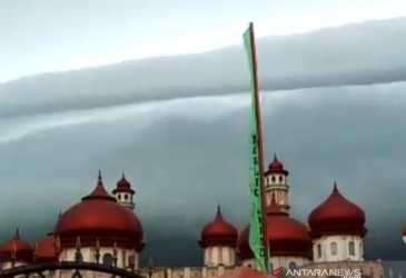 Awan Hitam di Langit Aceh Barat Hanya Fenomena Alam Biasa