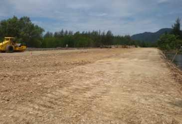 Pembangunan Jalan Akses ke Kawasan Zikir Hampir Rampung