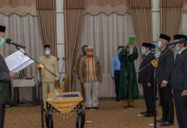 Plt Gubernur Aceh Lantik Manajemen Baru BPKS