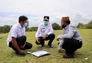 Plt Gubernur Aceh Tinjau Lokasi Main Stadium PON 2024