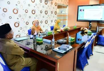 Forkopimda Banda Aceh Ikut Rakor Bersama TNP2K
