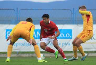 Timnas U-19, Jack Brown belum puas meski cetak dua gol