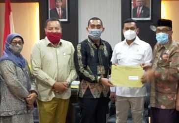 Komisi VI Serahkan Hasil Uji Calon Anggota Baitul Mal ke Pimpinan DPRA
