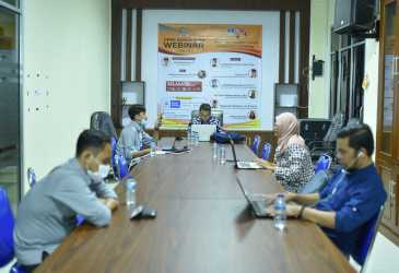 Dewan Gelar Webinar Sistem Pemilihan Keuchik Melalui E-Voting