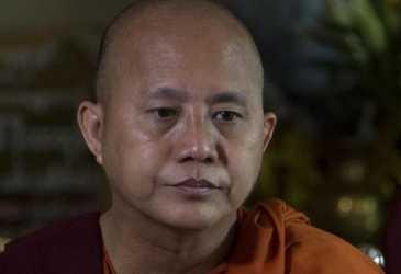 Biksu Anti-Rohingya Myanmar Buronan Menyerahkan Diri