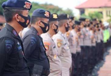 Polda Aceh Turunkan 521 Personel