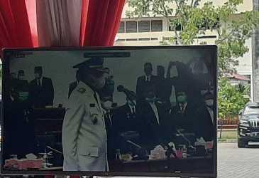 BREAKING NEWS - Sah, Nova Iriansyah Jabat Gubernur Aceh Gantikan Irwandi Yusuf