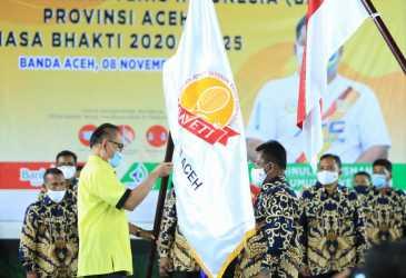 Pengurus Pusat Lantik Aminullah Sebagai Ketum BAVETI Aceh