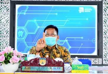 Wali Kota dan BI Launching Sistem Elektronifikasi Transaksi