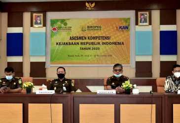 Tim Quantum HRM Internasional Latih Pegawai Kejati Aceh Asesmen Kompetensi