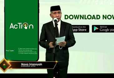 Nova Iriansyah Launcing Aplikasi Bank Aceh, Ini Sudah Lama Kita Tunggu