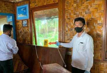 Satreskrim Polres Simeulue Olah TKP Kasus Pencurian di Resort, Ini Barang yang Digasak Maling