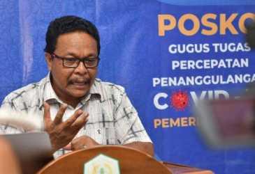 UPDATE Perkembangan Covid-19 Aceh - 7.911 Orang Positif, 298 Meninggal Dunia