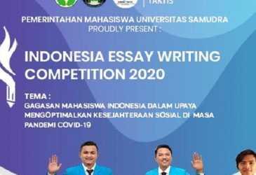 262 Mahasiswa dari 108 Kampus se-Indonesia Ikut Lomba Esai Tingkat Nasional IEWC 2020 Unsam Langsa