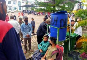 Di Bener Meriah, 56 Anak Pegawai Ikut Khitan Massal