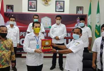 Sekda Aceh Timur Sambut Kunker DPRD Serdang Bedagai