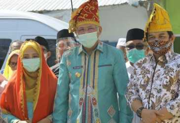 Peresmian Masjid Bantuan Aceh Disambut Gembira Warga Kota Palu