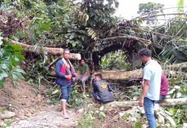 Jalan Menuju Samar Kilang Lumpuh Total