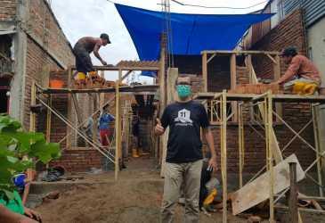 Rumah Bantuan Wali Kota Banda Aceh Hampir Rampung