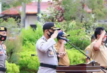 Kapolres Aceh Selatan Pimpin Apel Kebangsaan
