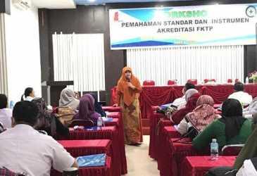Dinkes Nagan Raya Adakan Workshop Akreditasi Lanjutan, Ini yang Dibahas dan Pematerinya