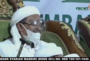 Pilih Istirahat, Habib Rizieq Batal Berdakwah di Makassar