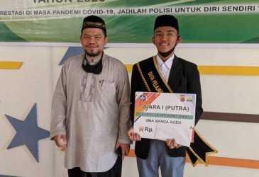 Achmad Atha Zayyan Duta Kamtibmas Kota Banda Aceh