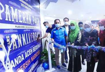 BNN Kota Banda Aceh Gelar Pameran P4GN Selama Dua Hari di Plaza Aceh, Kerajinan Gampong Ditampilkan