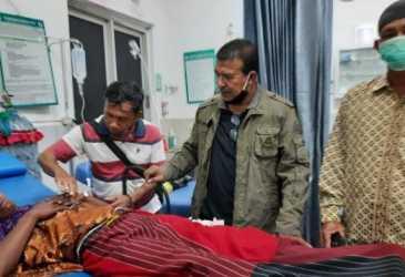 Dua Hari Terkatung-Kantung di Laut, Begini Kondisi 2 Nelayan Aceh Utara Saat Ditemukan