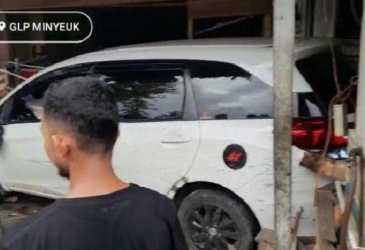 Kasus Tabrak Sempor Hingga Warung Kopi di Pidie, Sopir Mobilio Dikenakan Wajib Lapor