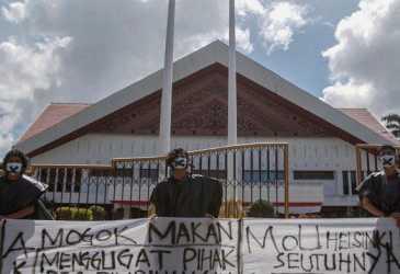 Tiga Pendemo Mogok Makan, Sikapi Kondisi 15 Tahun Perdamaian Aceh